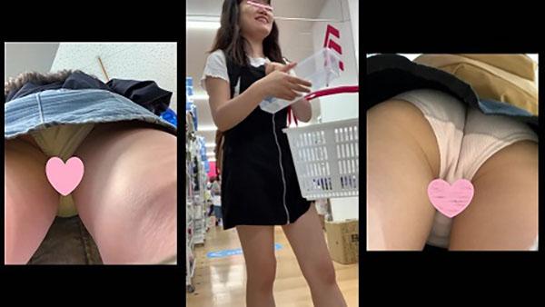 女子逆さ盗撮風VOL.8